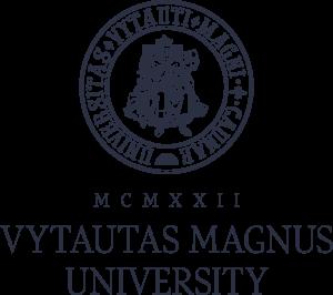 VDU_logo_vertikalus_t_pilkas_ENG_RGB